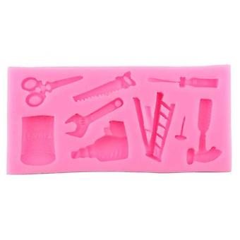 Silicone Fondant Moulds 9 Cavity Cake Fondant Moulds Chocolate Candy Tools