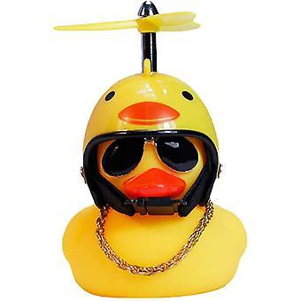 Duck Car Dashboard Decoratiuni cauciuc Duck ornamente auto Cool Duck