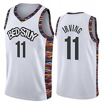 Men's Basketball Jersey Brooklyn Nets #11 Kyrie Irving #7 Kevin Durant #13 Harden Swingman Jersey Name And Number Player Sports T-shirt Size S-xxl