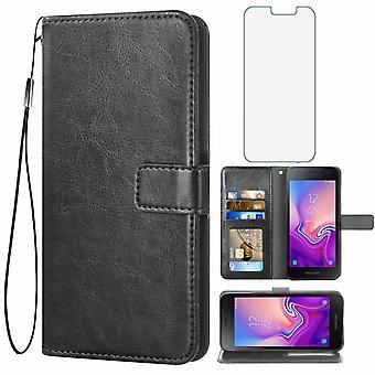 Handytasche angepasst für Samsung J2 Core, überprüfen Sie bitte das Modell Ihres Telefons, bevor Sie einen Kauf