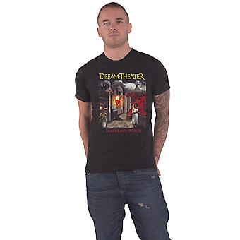 Dream Theater T Shirt Images And Words Band Logo new Official Mens Black