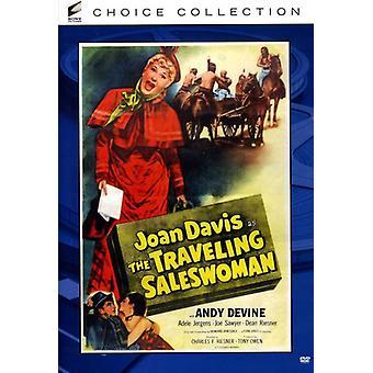 Traveling Saleswoman [DVD] USA import