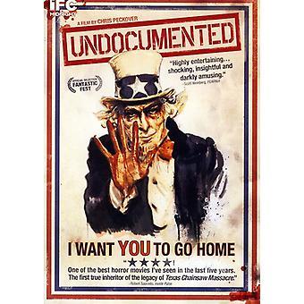Undocumented [DVD] USA import