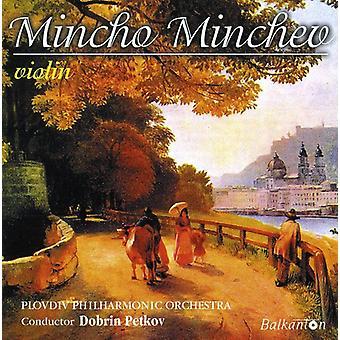 Mincho Minchev - importazione USA Mincho Minchev-violino [CD]