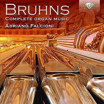 Bruhns - Comp USA de musique d'orgue [CD] importer