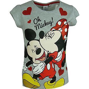 Disney Minnie Maus Mädchen \ Short Sleeve T-Shirt