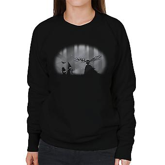 Eigenzinnige zielen Over de tuin muur Limbo Women's Sweatshirt