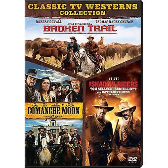 Broken Trail / Comanche Moon / Shadow Riders [DVD] USA import