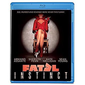 Fatale Instinct [Blu-ray] USA import