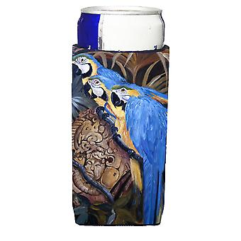 Carolines Schätze JMK1191MUK Papageien Ultra Getränke Isolatoren für schlanke Dosen