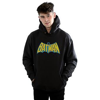 DC كاريكاتير الرجال & apos;ق باتمان كراكل شعار هودي