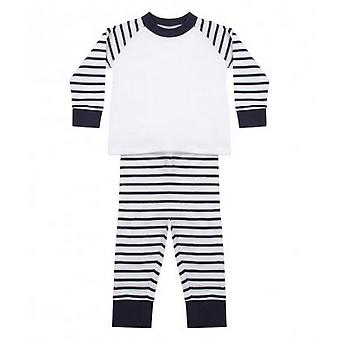 Larkwood Baby Boys Striped Pyjamas