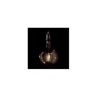 Ideal Lux Extra Large Amber Vintage E27 Globe Bulb LED 4W, 19.5cm X 29cm
