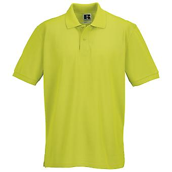 Russell Collection 100% Cotton Mens Colours Short Sleeve Ultimate Polo Shirt