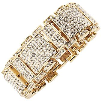 Iced out bling hiphop armband armband - RICK ROSS goud
