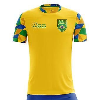 2020-2021 Brazil Home Concept Football Shirt - Baby