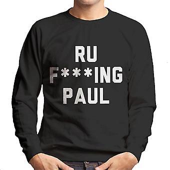 Ru Fking Paul miesten svetaripaita