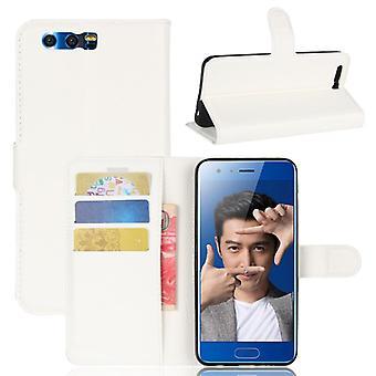 Portafoglio tasca Deluxe bianco per Huawei honor 9 caso di copertura del manicotto di protezione