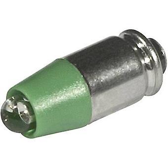 CML LED indicador luz T1 3/4 MG Verde 12 V DC, 12 V AC 2100 mcd 1512525 UG3