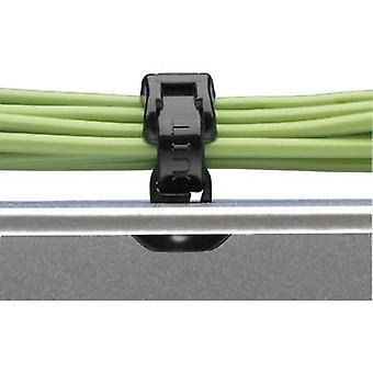 Panduit PBMS-H25-M30 Kabelhalterung PBMS-H25-M30 selbstdichtend, wärmestabilisiert Schwarz 1 Stk.
