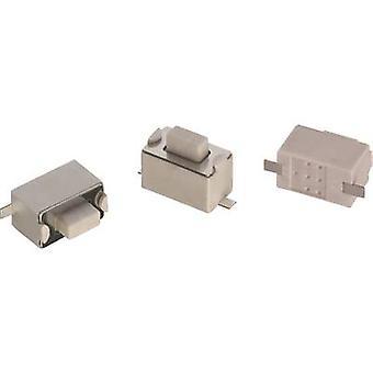 Würth Elektronik WS-TSW 434111043826 Druckknopf 12 V DC 0.05 A 1 x Off/(On) momentan 1 Stk.(s)