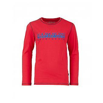 Tricou Napapijri pentru copii Sion cu mâneci lungi de contrast