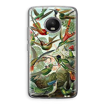 Motorola Moto G5 boîtier Transparent (doux) - Haeckel Trochilidae