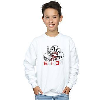 Eminem jungen Kettensäge Schädel Sweatshirt