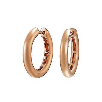 ESPRIT collectie dames oorbellen Creools zilveren Rosé PERIBESS ELCO90612B000