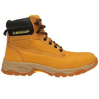 Stivali Dunlop Mens sicurezza sul sito Mesh olio e antiscivolo scarpe con lacci