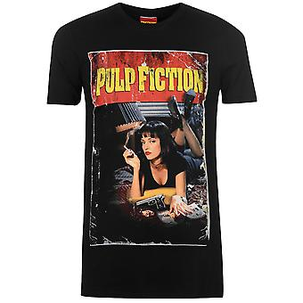 Character Mens Pulp Fiction Crew Neck Shirt