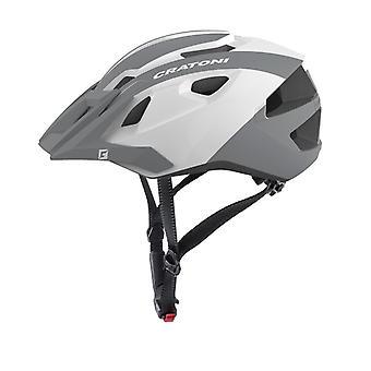 CRATONI AllRide bike helmet / / white/silver gloss