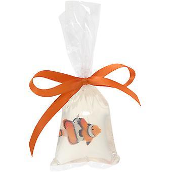 Elementos primigenios pescado en una bolsa de pez payaso 100g