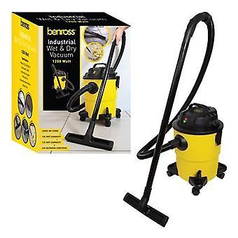 Benross 1200 Watt Industrial Wet And Dry Vacuum