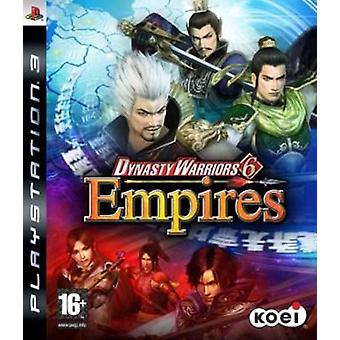 Dynasty Warriors 6 Empires (PS3) - New