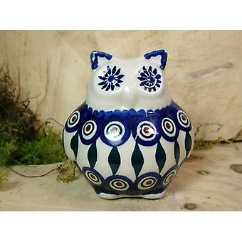 OWL, 2nd choice, 10.5 cm high, tradition 10 polish pottery - BSN 22502