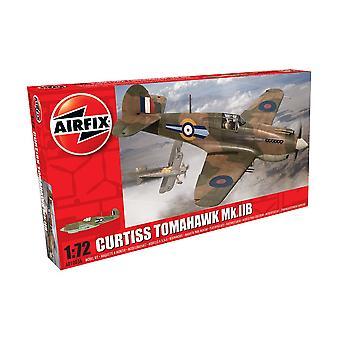Airfix Curtiss Tomahawk Mk.IIB modell 1: 72 skala modell Kit