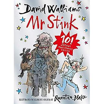 Mr smród: Prezent ograniczone wydanie książki David Walliams bestsellerowej dzieci