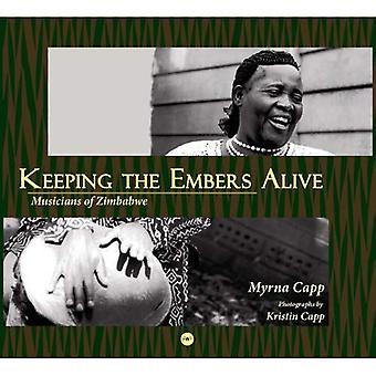 Músicos do Zimbabué: mantendo as brasas vivas