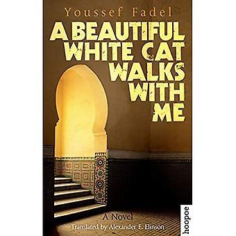 Un beau chat blanc marche avec moi: un roman (huppe, Fiction)