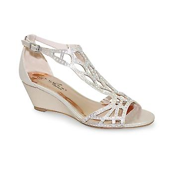 Lunar Denton strass Wedge Sandal