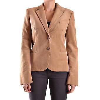 Dolce E Gabbana Rzbc006067 Frauen's braun Baumwolle Blazer