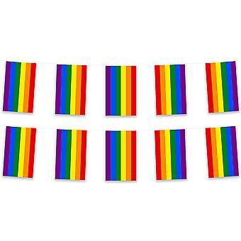 Rainbow Bunting 5m tkaniny poliestrowej obywatela państwa