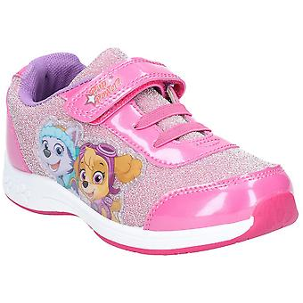 Leomil Girls Paw Patrol Bungee Laced Sporty Fashion Trainers