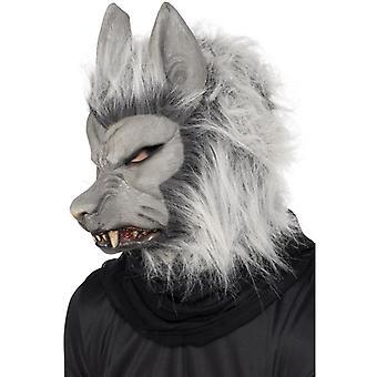 Vlkodlakova maska s vlasy