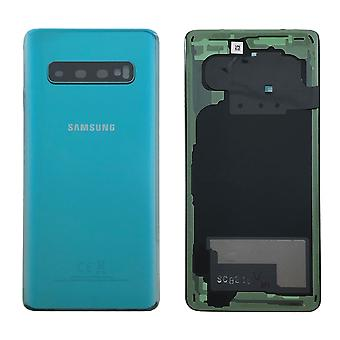 Samsung GH82-18378E battery cover cover for Galaxy S10 G973F + adhesive pad green Prism green new