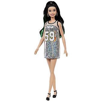 Barbie FXL50 Fashionistas Silver Jersey - Tall