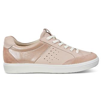 ECCO Womens 2019 zachte 7 W poeder kussen zool lederen trainers schoenen