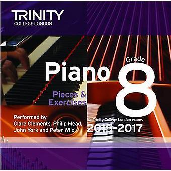 Piano 2015-2017 - Grade 8 - 9780857363435 Book