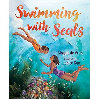 Swimming with Seals by Maggie de Vries - 9781459813212 Book